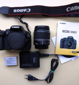 Canon EOS 550D Kit (Canon EFS 18-55mm IS)