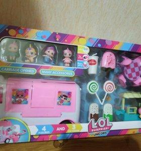 Игровой набор лол фургон со сладостями