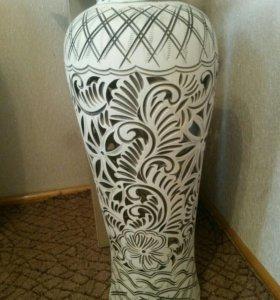 ваза белая