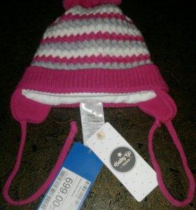 Продаётся детская шапка размер 44-46