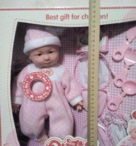 Кукла-пупс с аксессуарами.