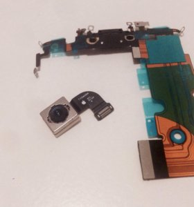 Основная камера(оригинал),нижний шлейф iPhone 8
