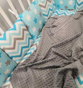 Новые наборы бортики в кроватку