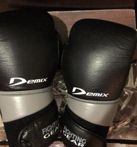 """Перчатки боксерские «Demix"""" 100 % натуральная кожа"""