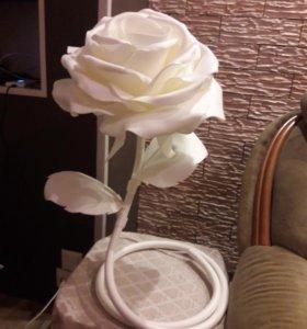 Роза светильник