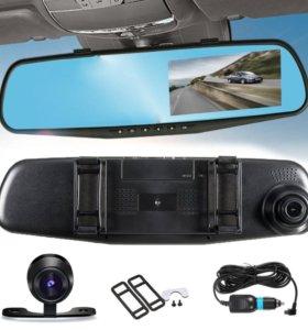 Зеркало видеорегистратор с камерой заднего вида