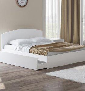 кровать евродвушка