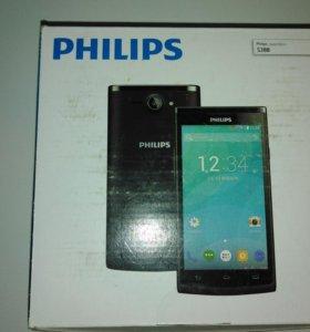 Смартфон Philips S388 Black.