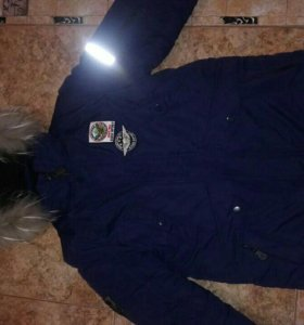 Куртка-парка на мальчика