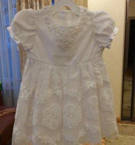 Нарядное платье 86, 92 р