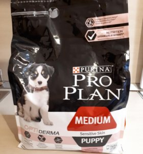 Purina Pro Plan medium для щенков