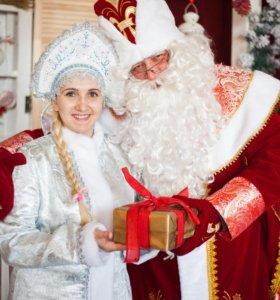 Дед Мороз и Снегурочка на дом или сад