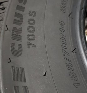 185/70 R14 Bridgestone Ice Cruiser 7000 S