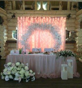 Оформление свадьбы, декоратор,флорист