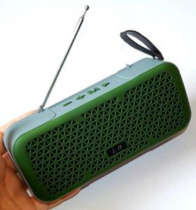 Портативная bluetooth колонка L8 + FM радио и mp3
