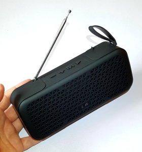Беспроводная блютуз колонка L8 + FM радио и mp3!