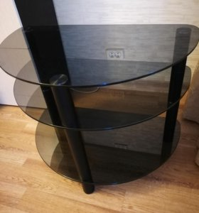 Тумба (подставка) под телевизор стеклянная