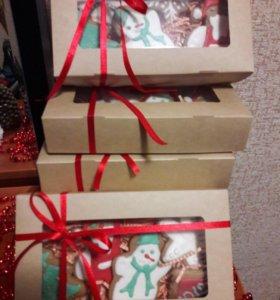 Имбирные подарки к новому году