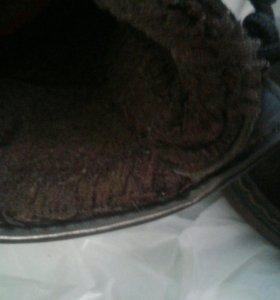 Ботинки зима р 35