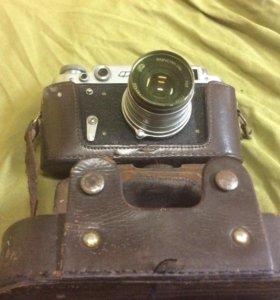 Фотоаппарат ФЭД с чехлом