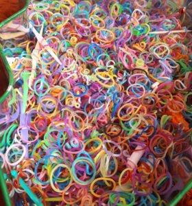 Куча резиночек для плетения