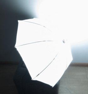 Миниатюрный софтбокс зонтик