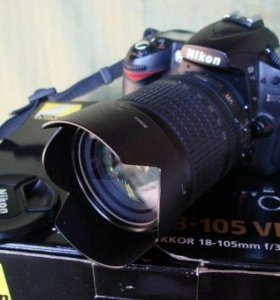 Фотоаппарат Nikon D90 + kit 18-105