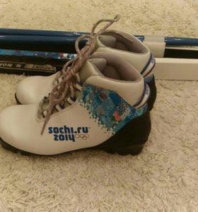 Лыжи детские Сочи 2014 Nordway