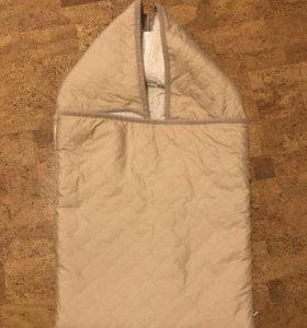 Конверт-одеяло, 100% шерсть