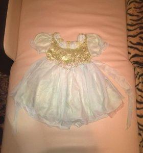 Платье праздничное на девочку от 2-4 лет