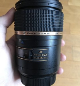 Продам объектив макро Tamron 90mm для Nikon