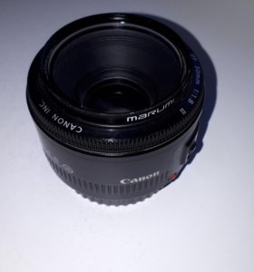 Canon 50 1.8