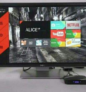 ТВ приставка IP ТВ бокс