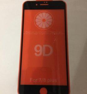 Стекло защитное на весь экран iPhone
