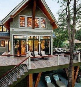 Дома из бруса. Фундаменты . Фасады. Крыши.