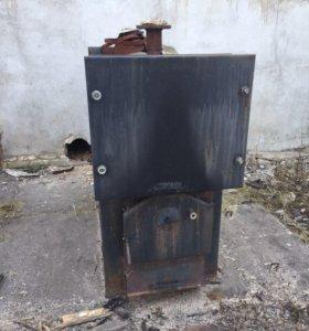 Продам стальной котел wirbel на твердом топливе