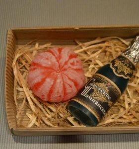 Подарочный набор (мыло ручной работы)