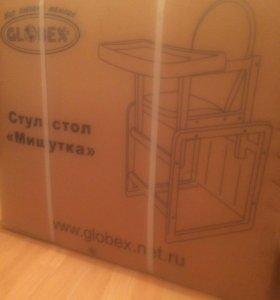 """Столик /стульчик для кормления globex """"Мишутка"""""""