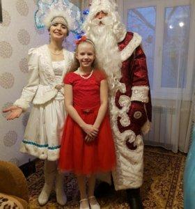 Дед Мороз и Снегурочка,аниматоры Спб