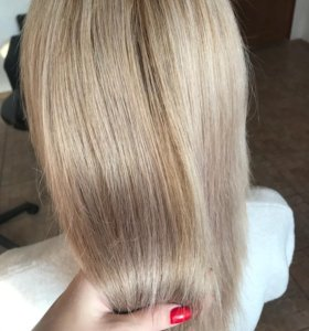 Кератиновое выпрямление и лечение ботокс волос