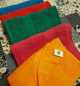 Махровое хлопковое полотенце
