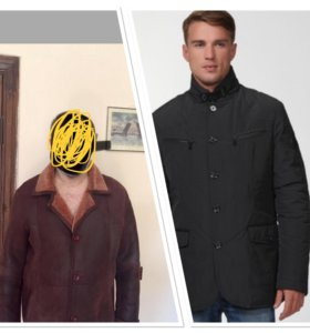 Зимняя куртка от Bikkenberg.Натуральная дубленка .