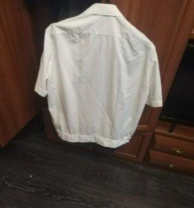 Рубашка белая полиция