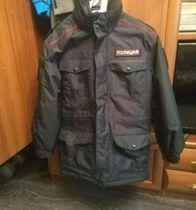 Куртка демисезонная полиция