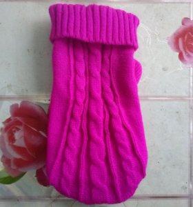 Шерстяной свитер для мини собак