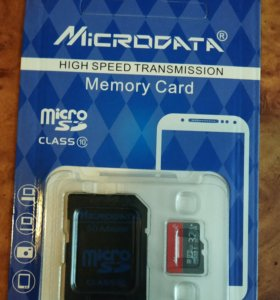 Карта памяти Micro sd 32 gb 10 class
