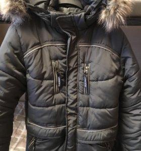 Зимняя куртка 158 размер