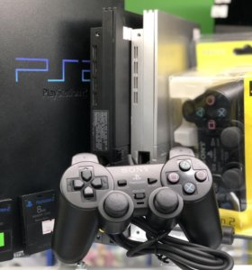 Sony Playstation 2 джойстики, аксессуары....