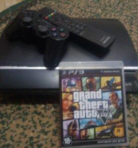 PlayStation 3 + GTA Online (еще 8 игры помимо GTA)