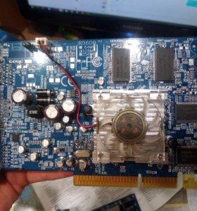 Видеокарта AGP 128 мб
